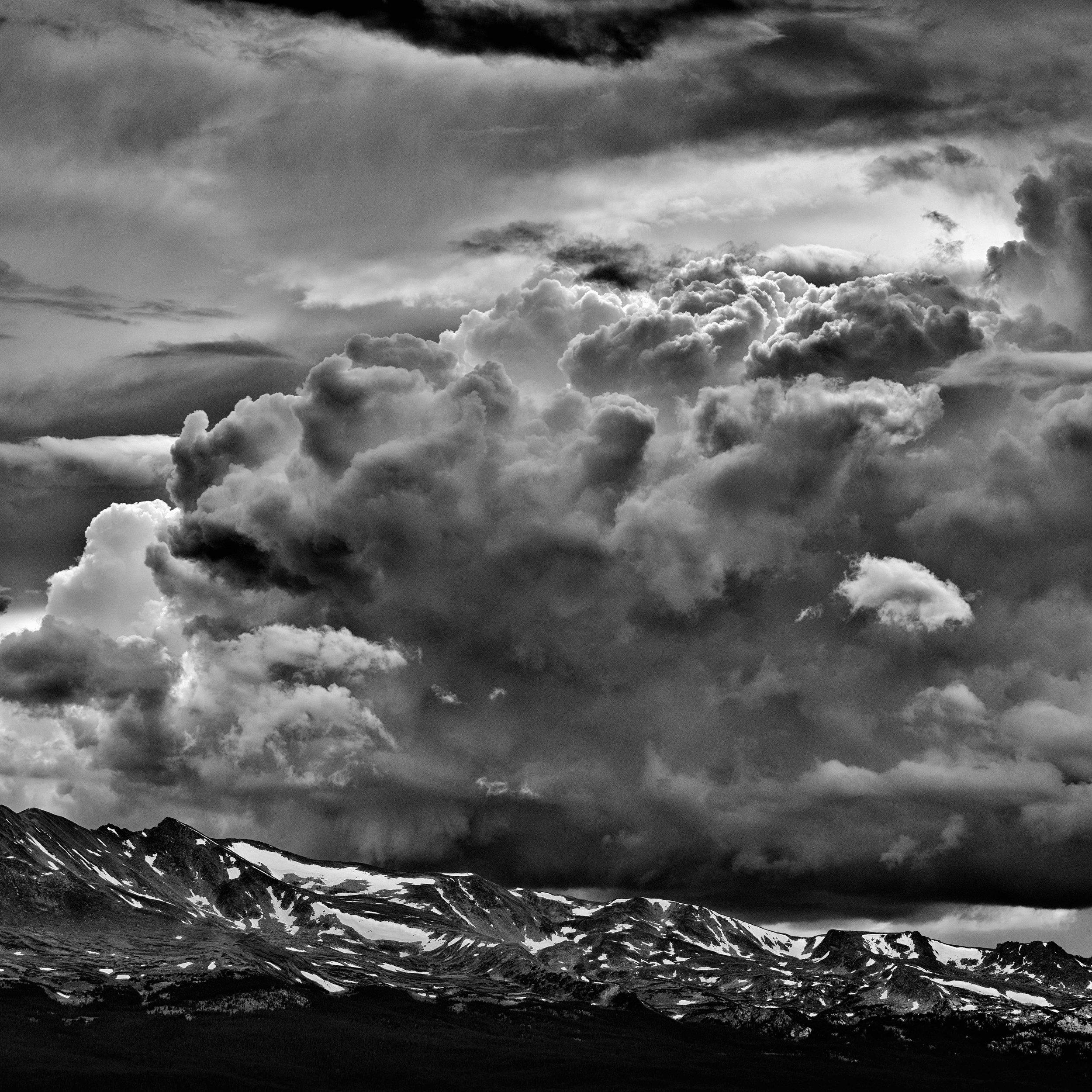 Massive Ridge Cloudscape