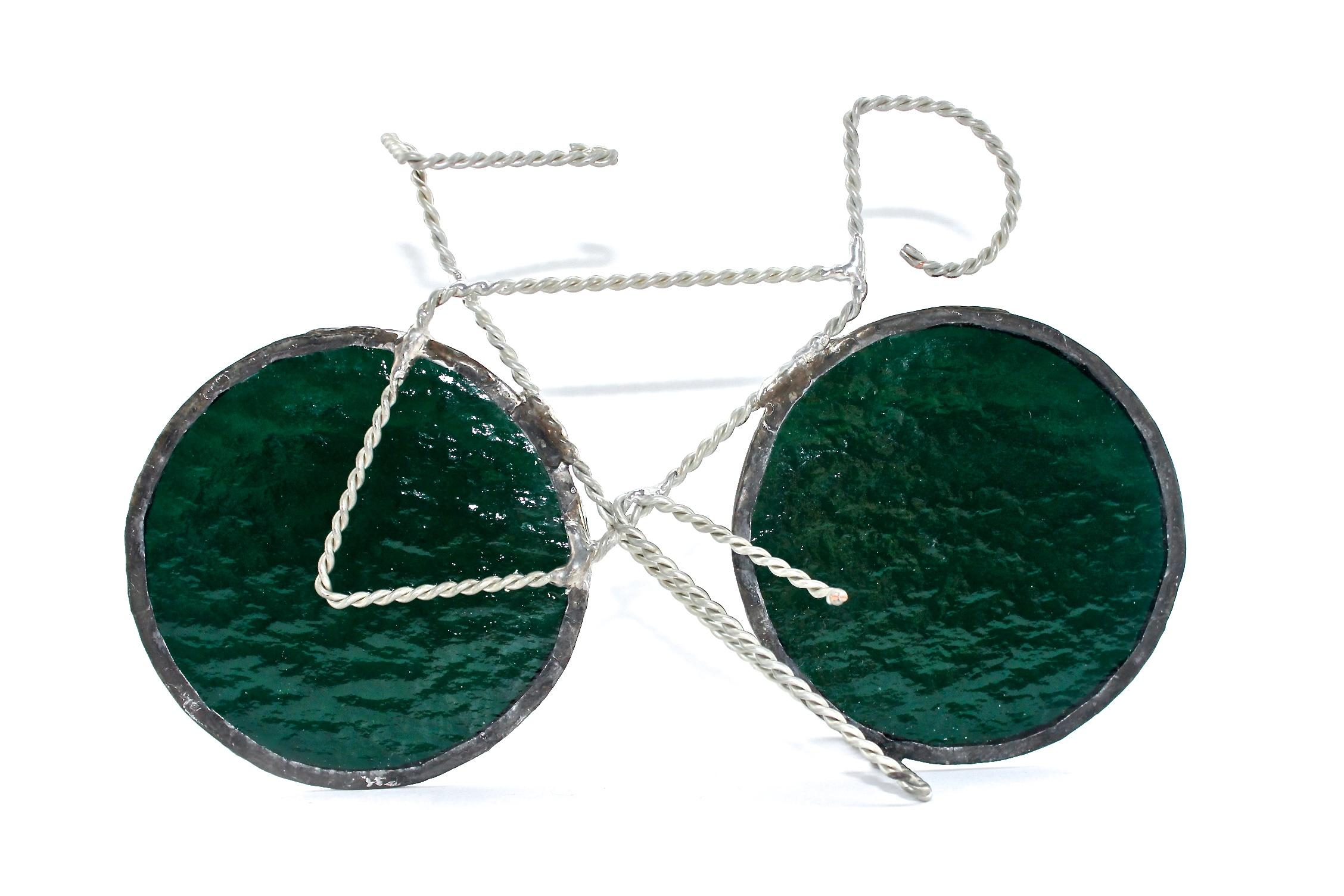 Bike Sculpture | Green