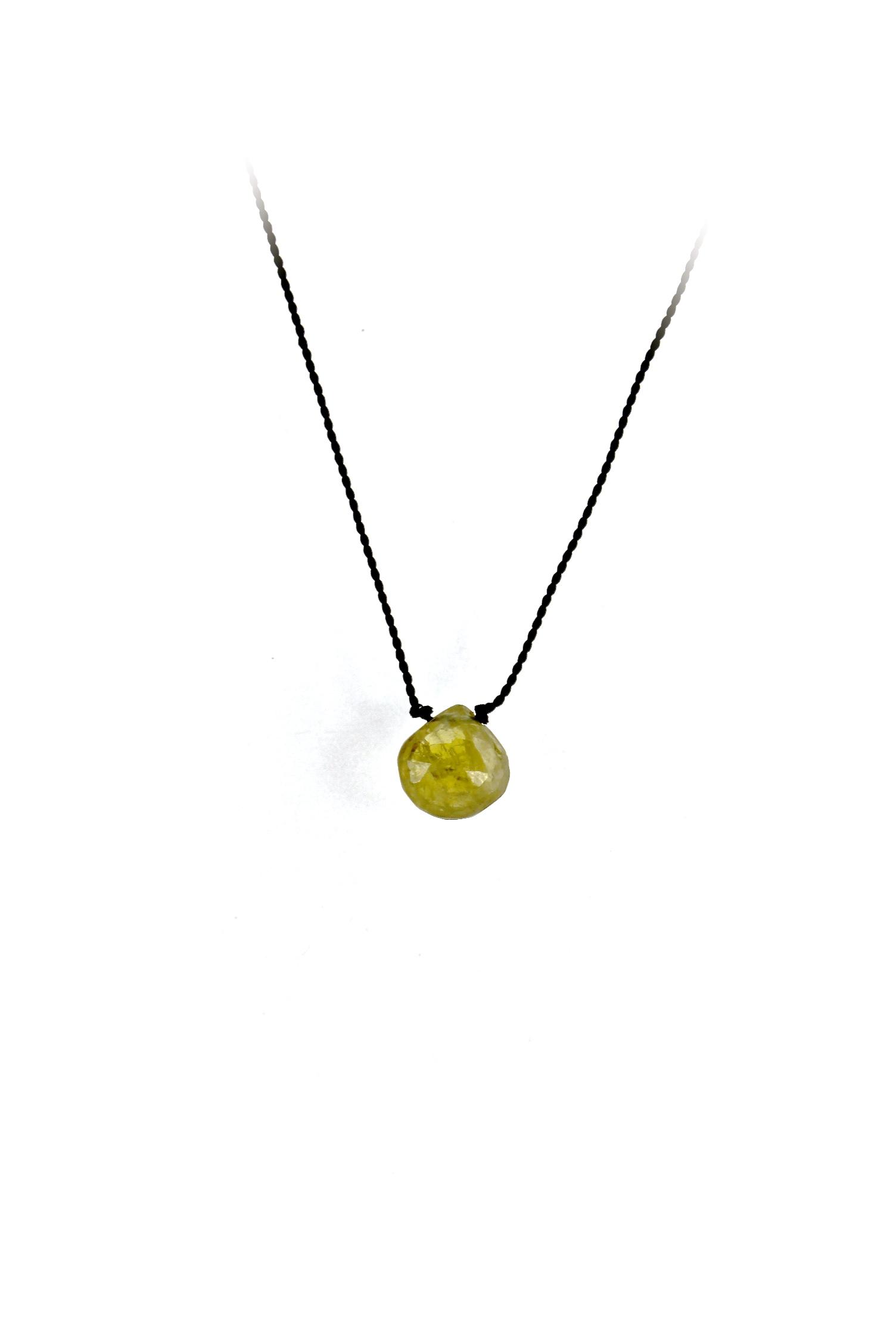 Gemstone Drop Necklace