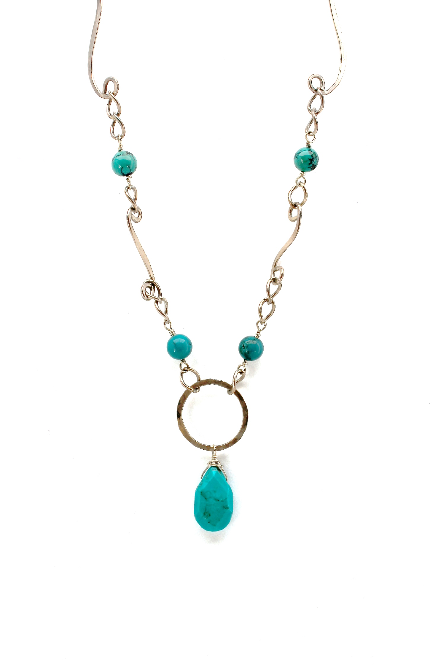 Turquoise + Sterling Silver Necklace