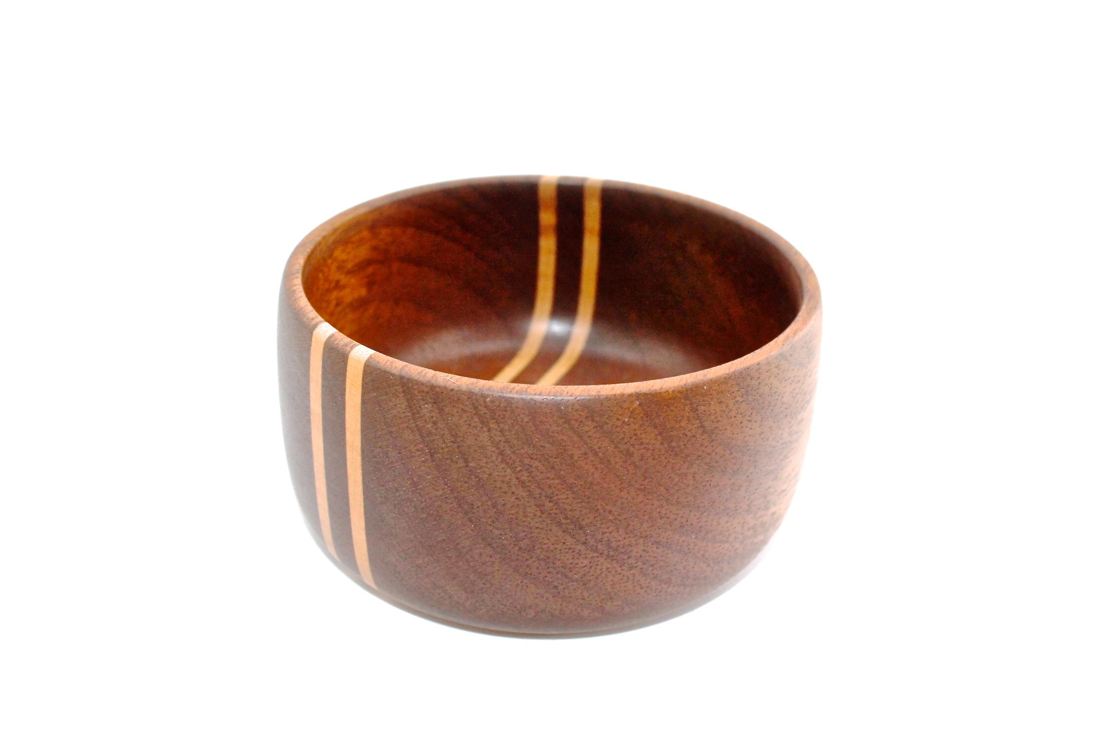 Stipe Mahogany Bowl