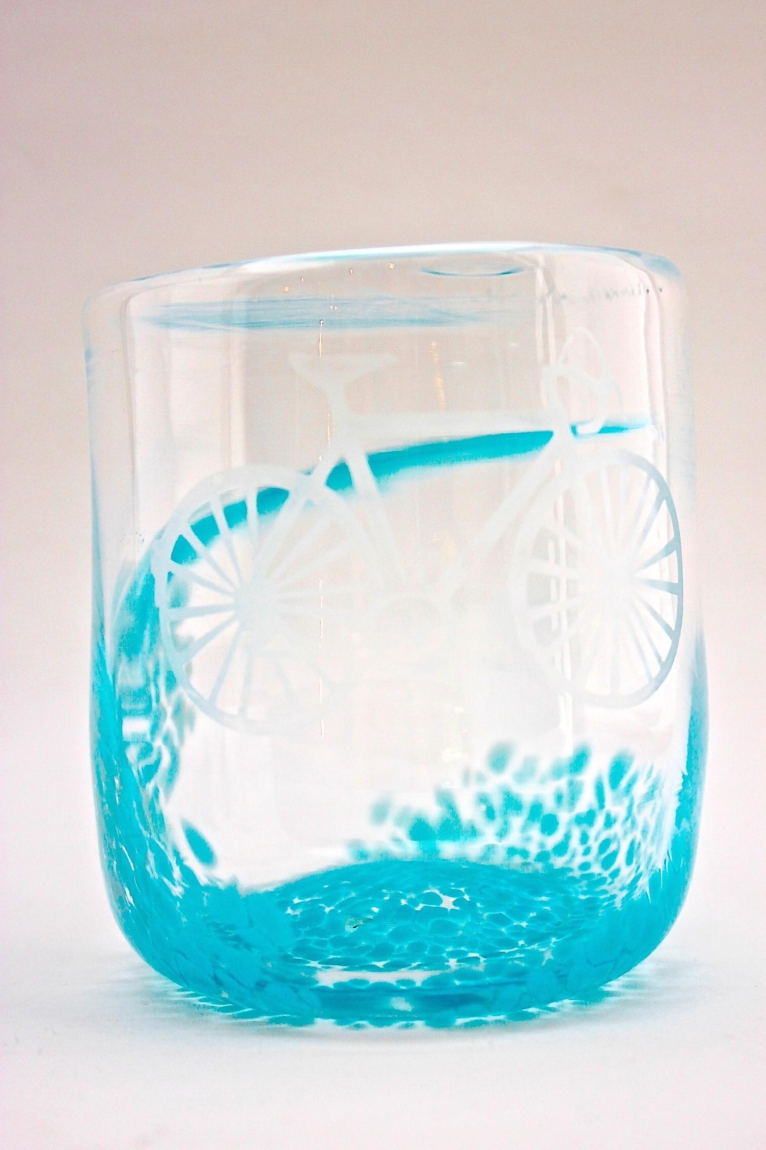 Bike Glass | Turquoise
