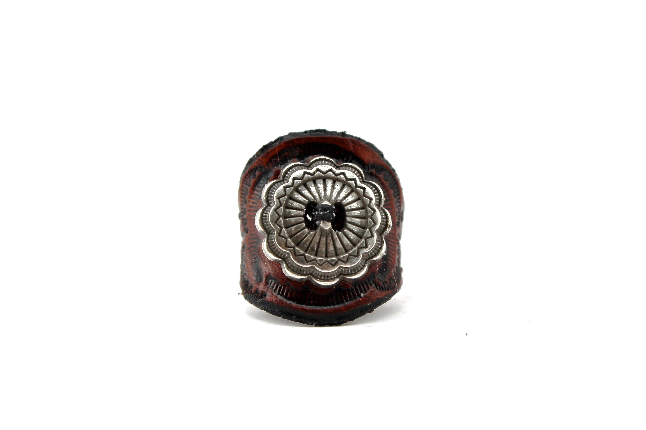 Zuni Leather Ring