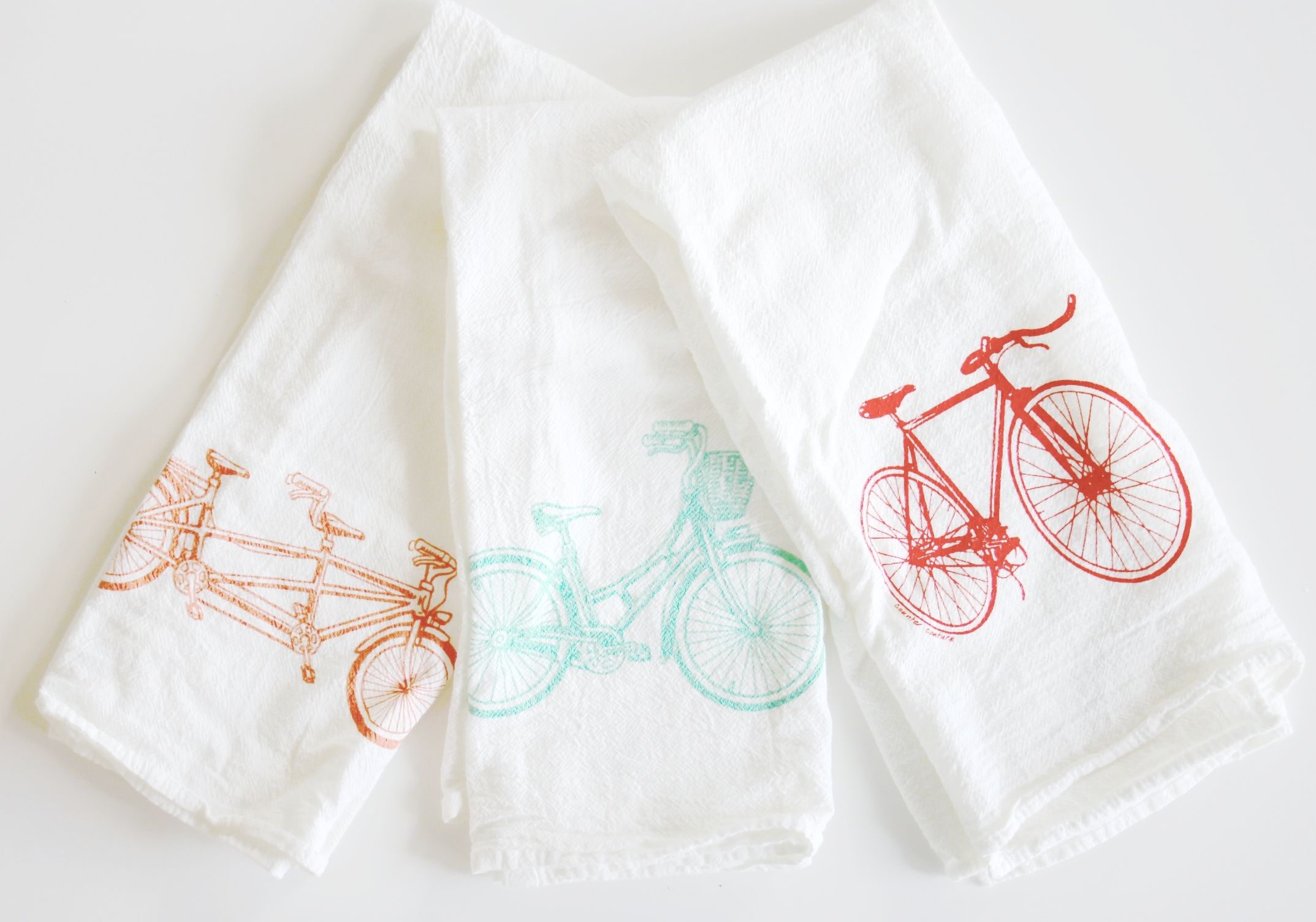 Bike Kitchen Towel Set