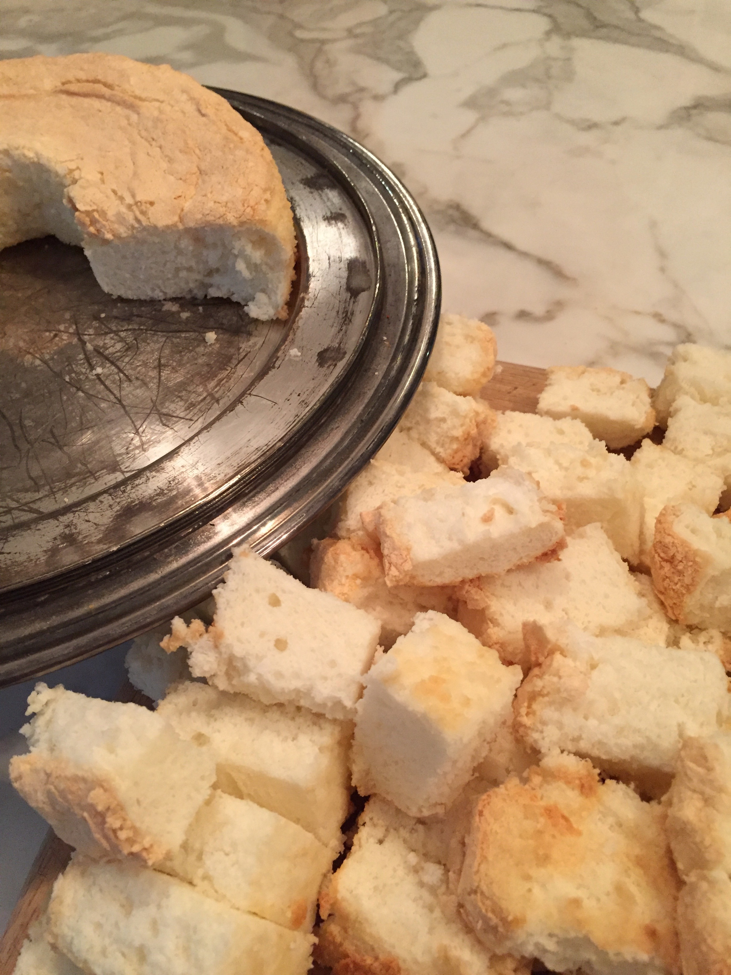 didn't get a good rise?  make sweet croutons!
