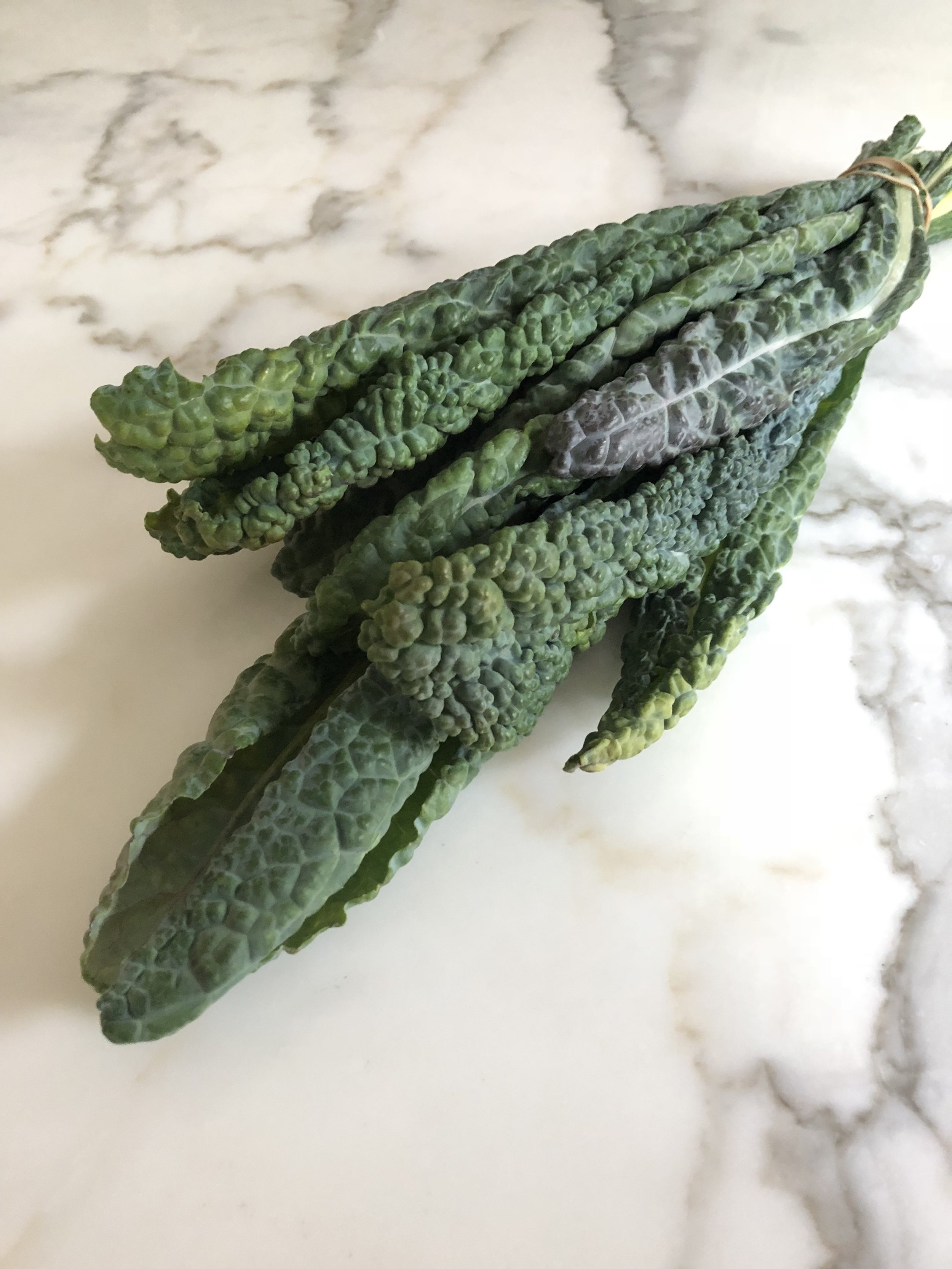 - This is Lacinato, Tuscan, Black or Dinosaur Kale. Any type of Kale works in this salad, but this is the most tender kale and the best option if you are not making the salad ahead of time.