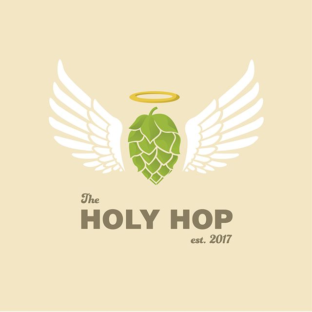 The Holy Hop _ #theholyhop #holy #hop #beer #brewery #pub #logo #design #colorado