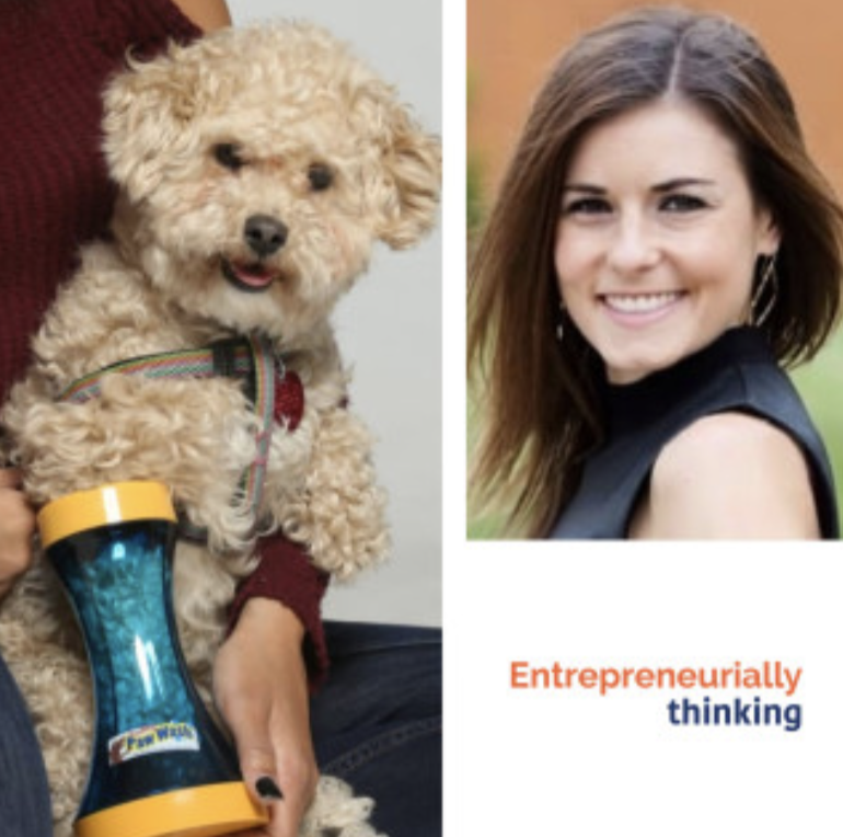 NEW episode of Entrepreneurially Thinking Featuring Katie Petty | Wild Heart is LIVE and available to listen and share!