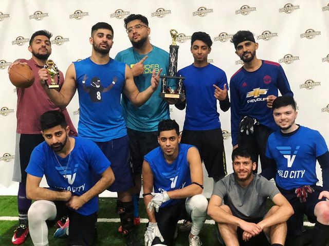 Congratulations to Blue Slide Park for winning the 22nd MAP Flag Football Tournament!