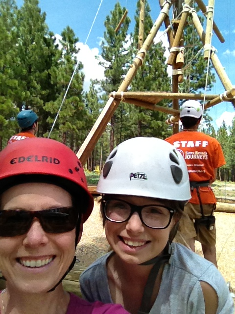 Kristin and Lacee at SNJ's Open House at Grizzly Creek Ranch in the summer of 2013.