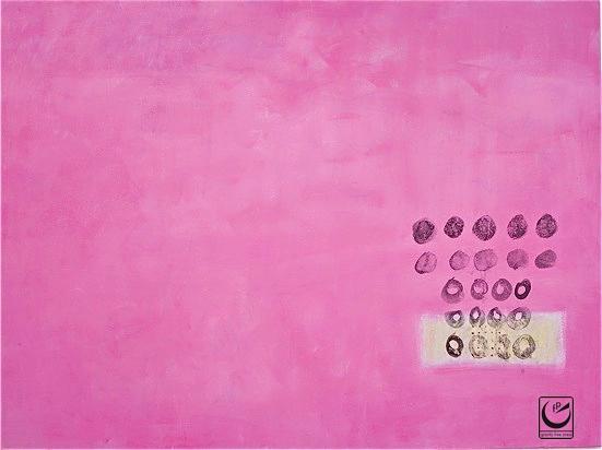 Untitled (Bandaid Series), Acrylic on Canvas, 3' x 4,' 2011