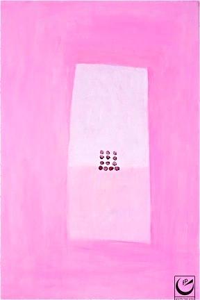 "Bandaid, Acrylic on Canvas, 24"" x 30,"" 2011"