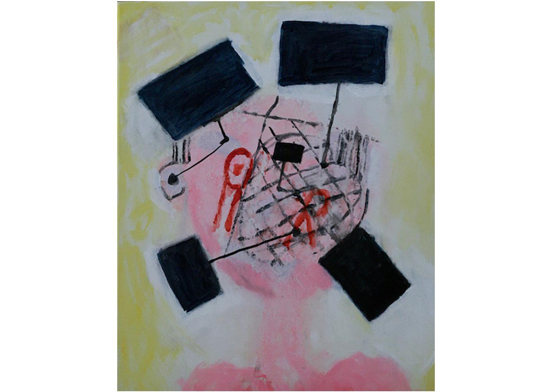 Screenman series, Acrylic on Canvas