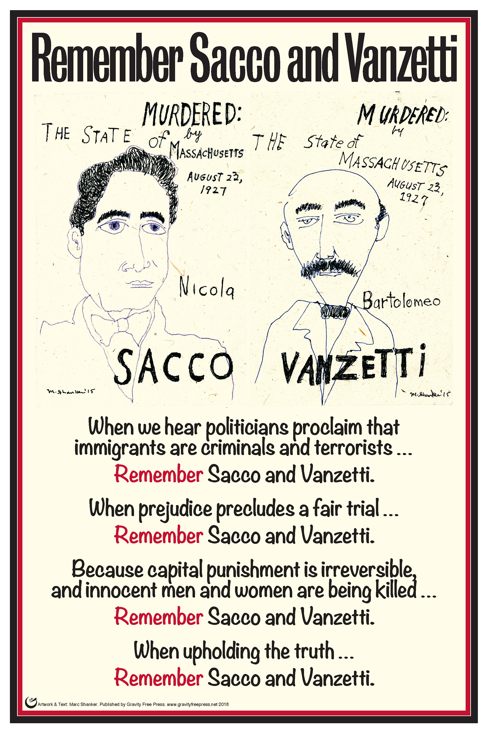 sacco and vanzetti poster