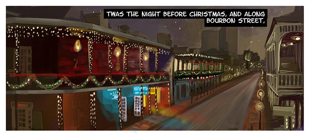 Bourbon Street Christmas