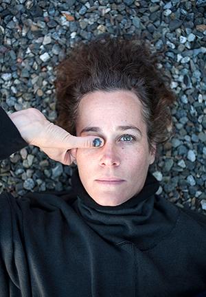 Self-Portrait, Bruised, 2014 by Kate Wool
