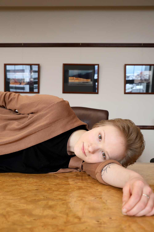 Alicia Norton, University of Alaska Legislative Intern