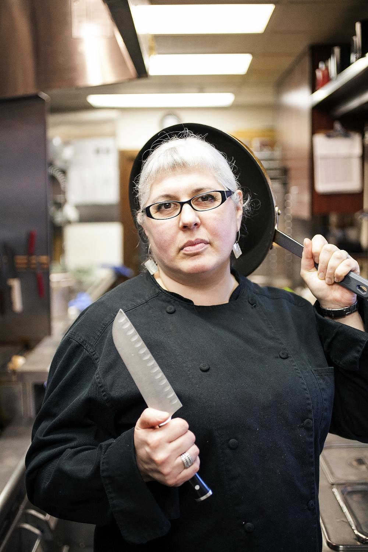 Stefani Marnon, Legislative Lounge Chef
