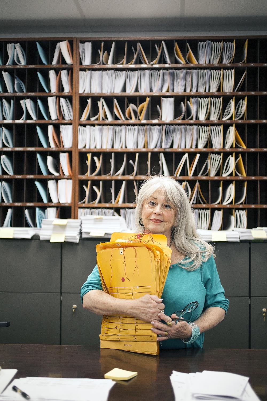 Stella Taug, Documents Clerk