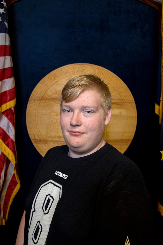Evan Edgmon, son of Bryce Edgmon, Speaker of the House, House Representative District 37