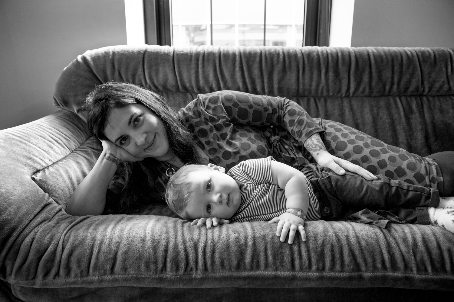Laura Stidolph and son, Buster (one year later), Legislative Aide