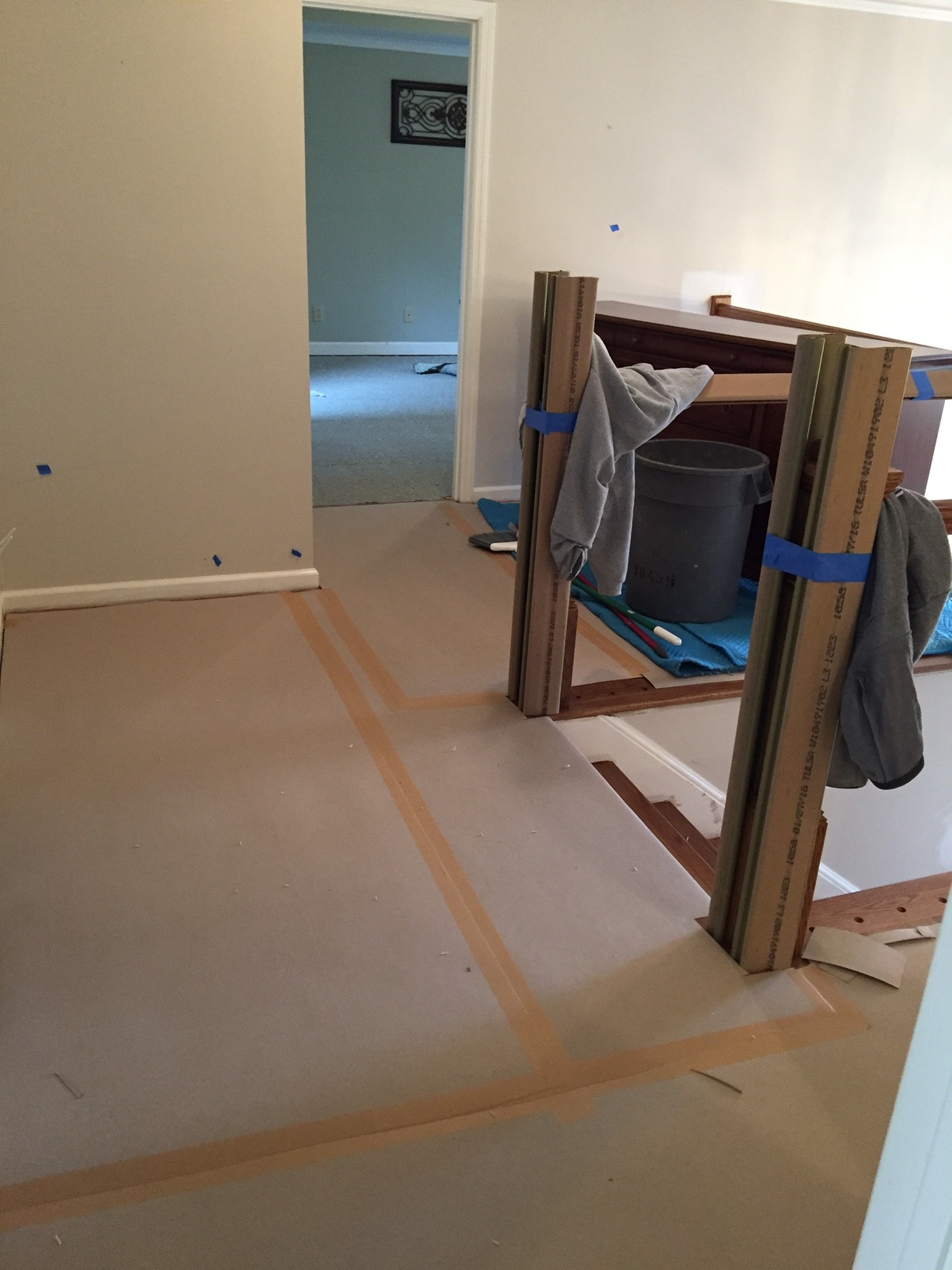 No new floors or banisters getting scratched or dinged up by our crew -- we care about our work as much as our homeowners!