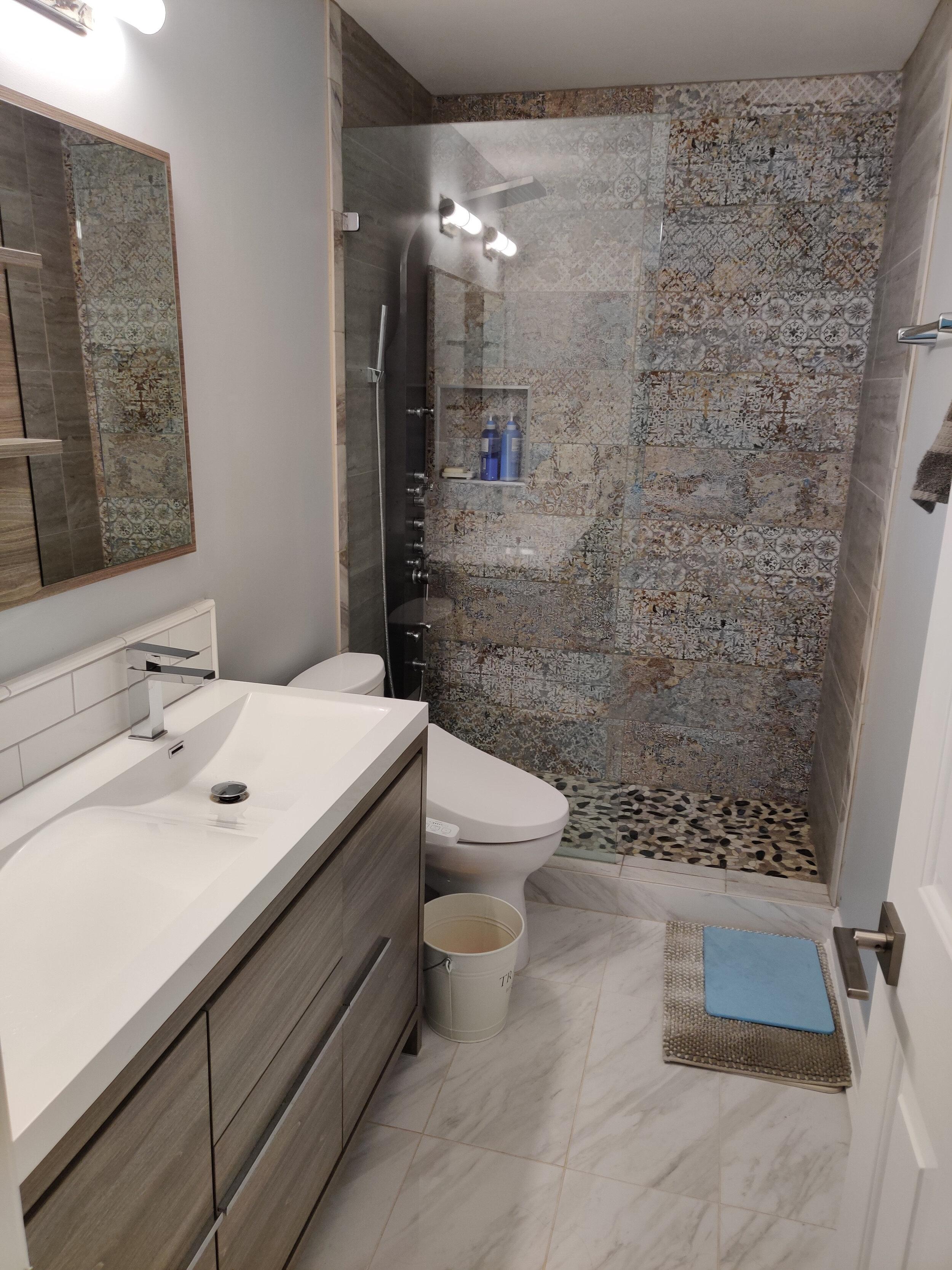 Bathroom Makeovers Benjamin Andrew Construction