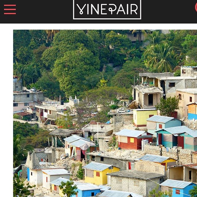 Excited to share my first piece for @vinepair all about Clairin, the distilled spirit of Haiti. • Thank you @emilyjsaladino For the opportunity + @mrjanwarren, @wheninrhum and @shannonmustipher for your insight. • Full story via link in bio 🇭🇹🎋🍹