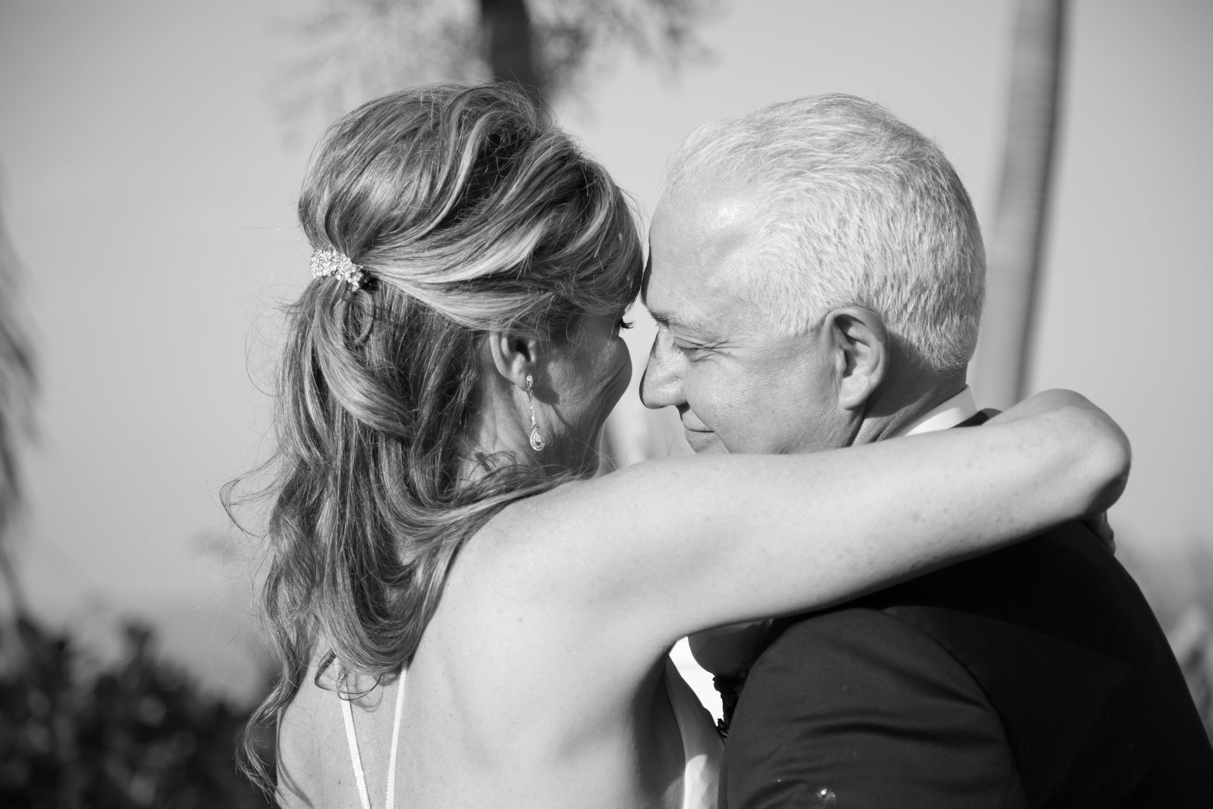 carmella ceremony bw groom smile-1.jpg