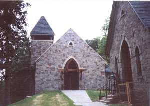 New Church First Service: Pentecost 2000