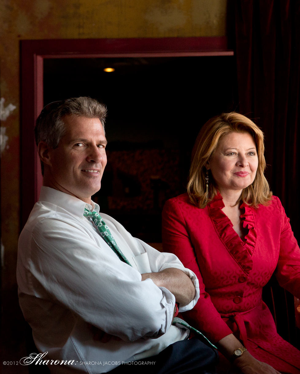 Scott Brown and Gail Huff