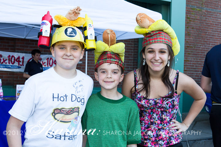 Cystic Fibrosis Foundation Hot Dog Safari partygoers