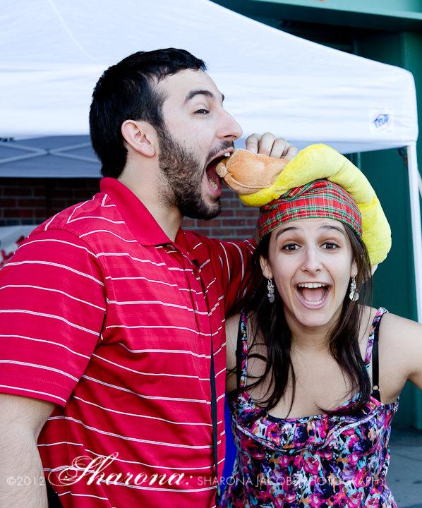 Cystic Fibrosis Foundation Hot Dog Safari partygoers