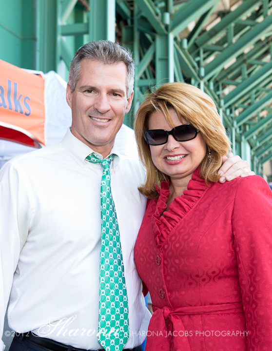 Senator Scott Brown and Gail Huff