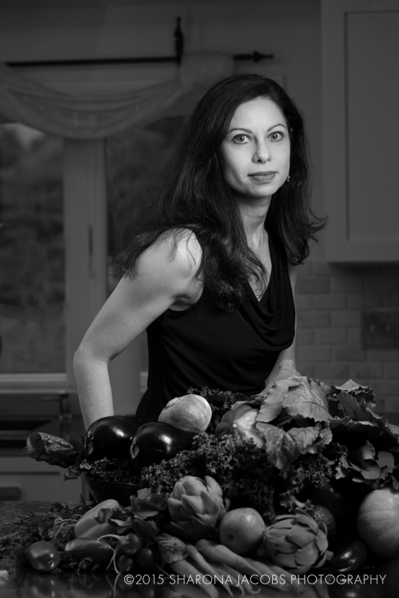 Portrait of Stacy Kennedy, nutritionist. Wellesley, MA