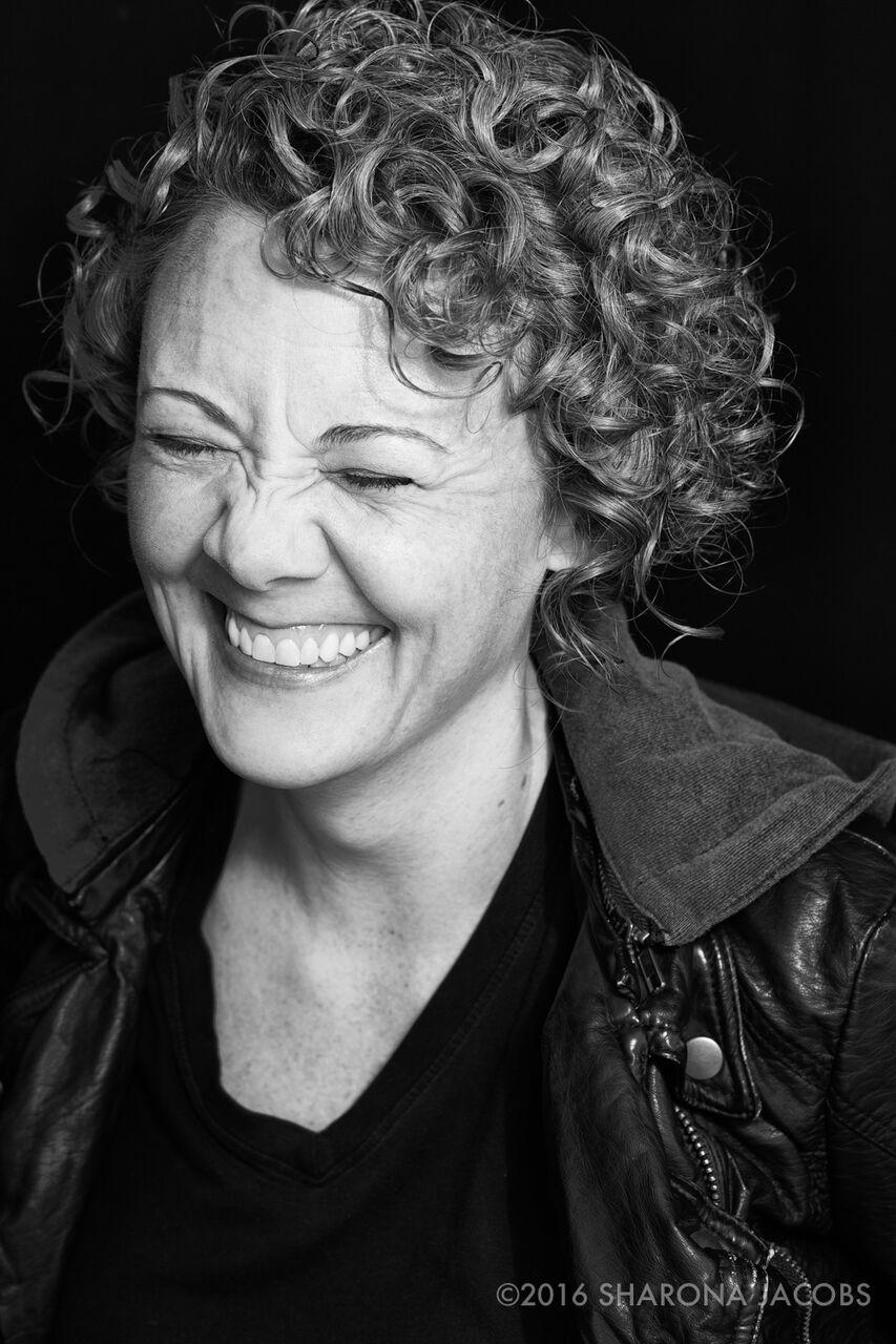 Portrait of novelist Kelly J. Ford by Sharona Jacobs. Arlington, MA