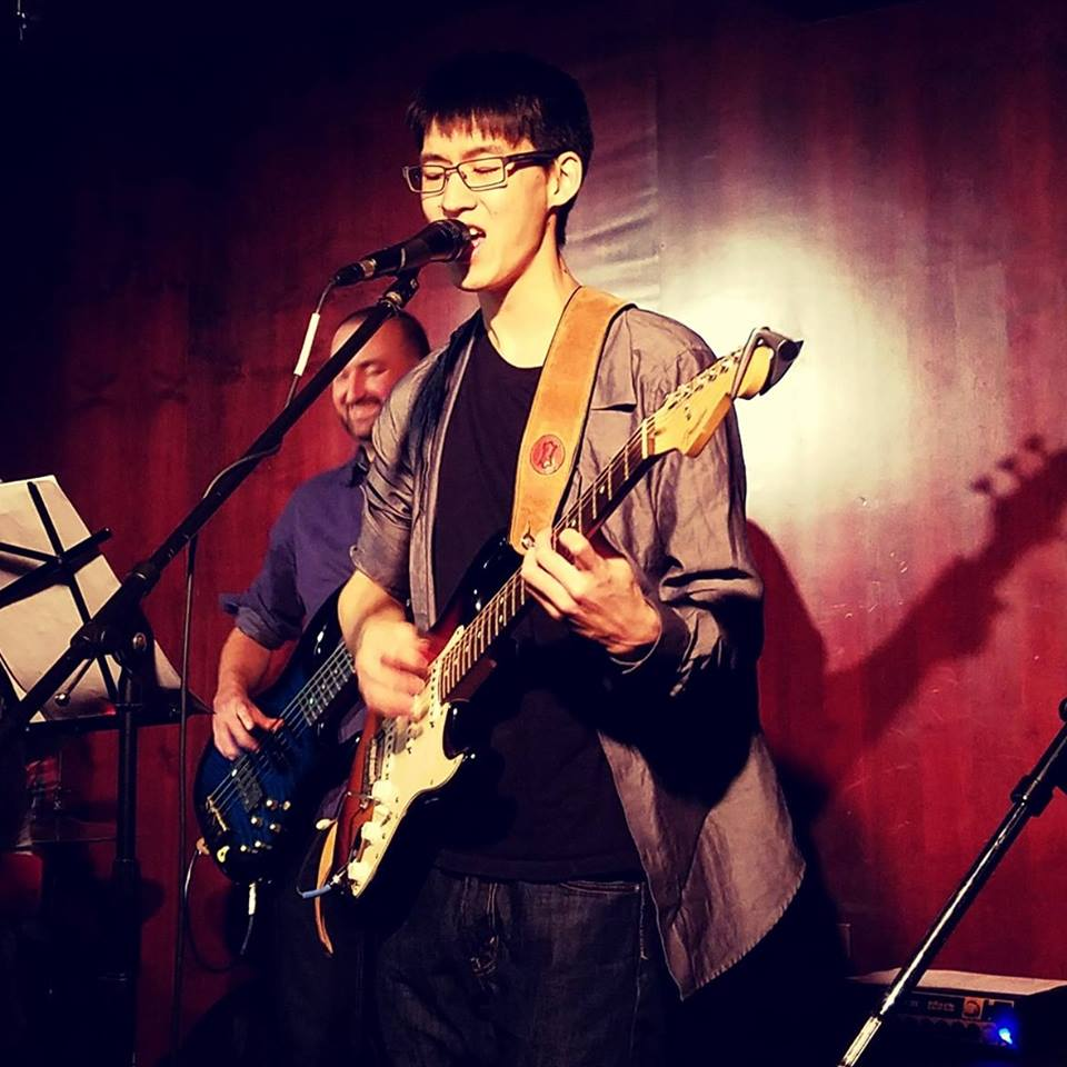 Eddy Shin is a local singer and songwriter, melding blues and jazz with pop cover tunes.