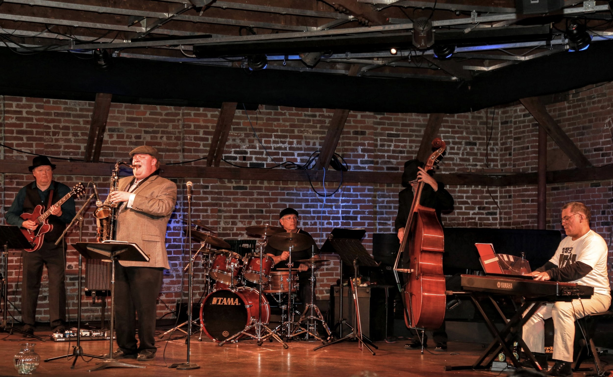 Local Jazz group 'Kings Five Jazz' is back with another night of great music!
