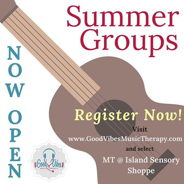 Want your child to participate in a fun activity during the last three weeks of summer? My Summer Music Therapy Groups are now open for registration!  Click the link in my bio for more info and to register! #MusicTherapist #musictherapy #statenisland #specialneedskids #specialneedsmom #nyc #music