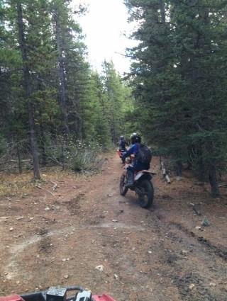 Locals enjoying Pole Haven trails.  Photos provided by Dan Still, 2016