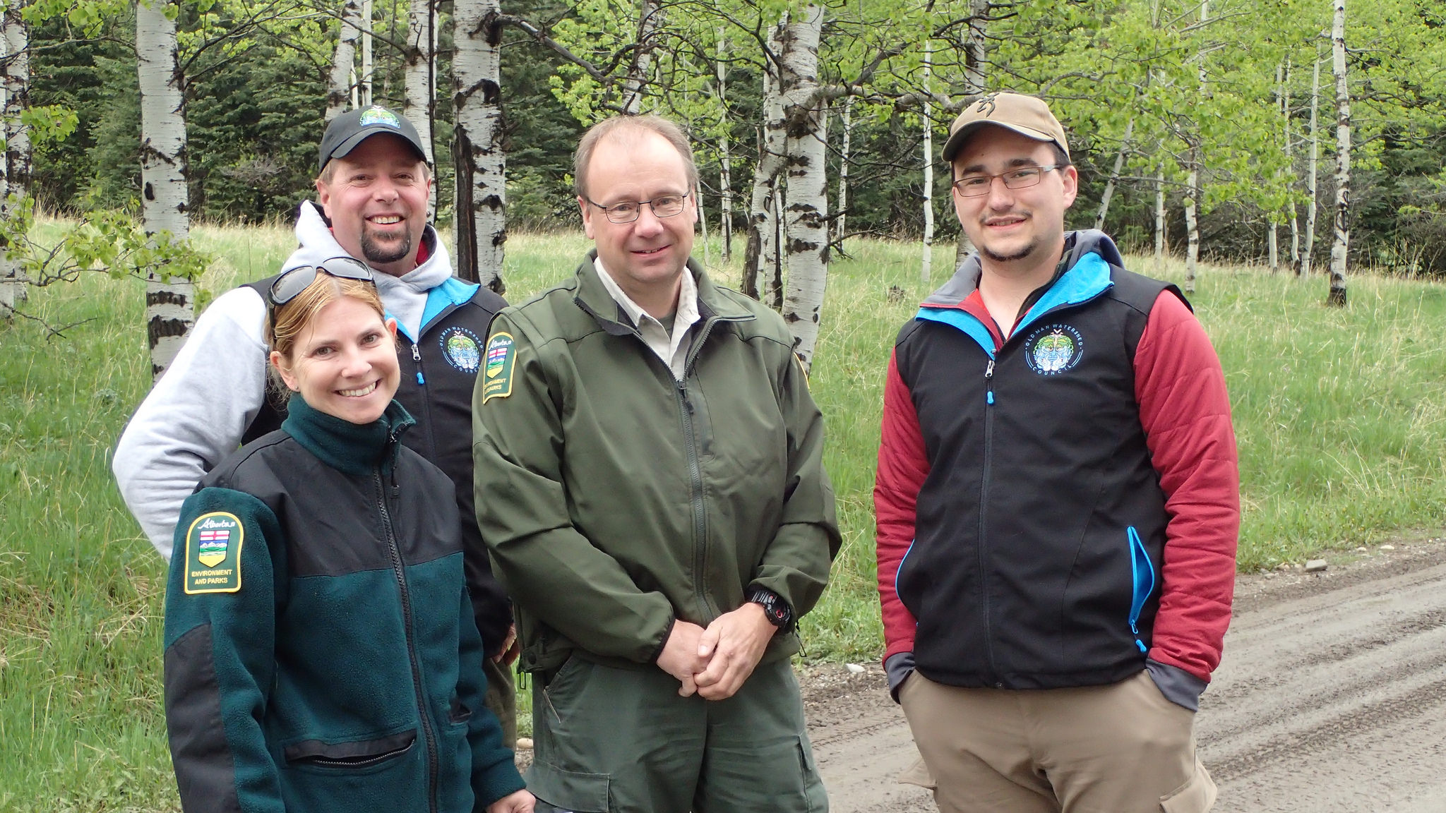 Rob and Thomas caught up with Mike Taje and Michelle Keohane from Alberta Environment and Parks