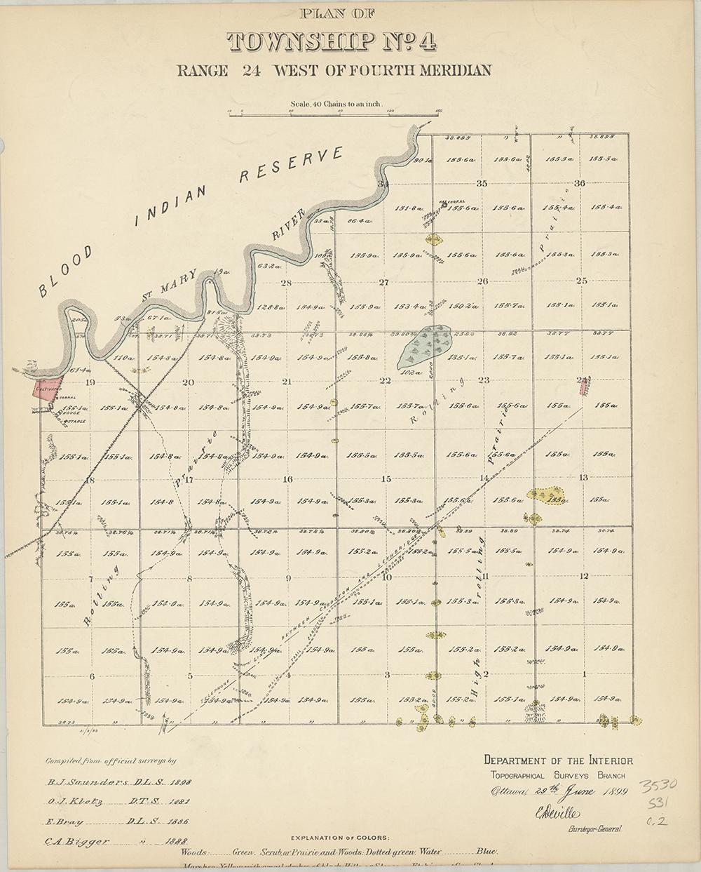 Plan of Township No.4