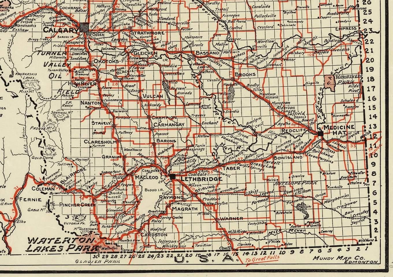 Southern Alberta (1937)