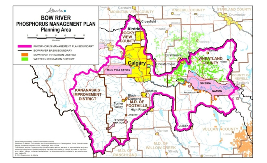 Bow River Phosphorus Management Plan - Planning Area