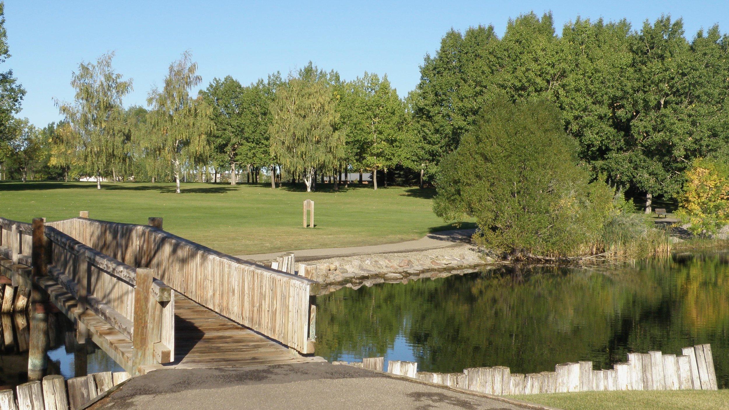 Nicholas Sheran Park in late summer