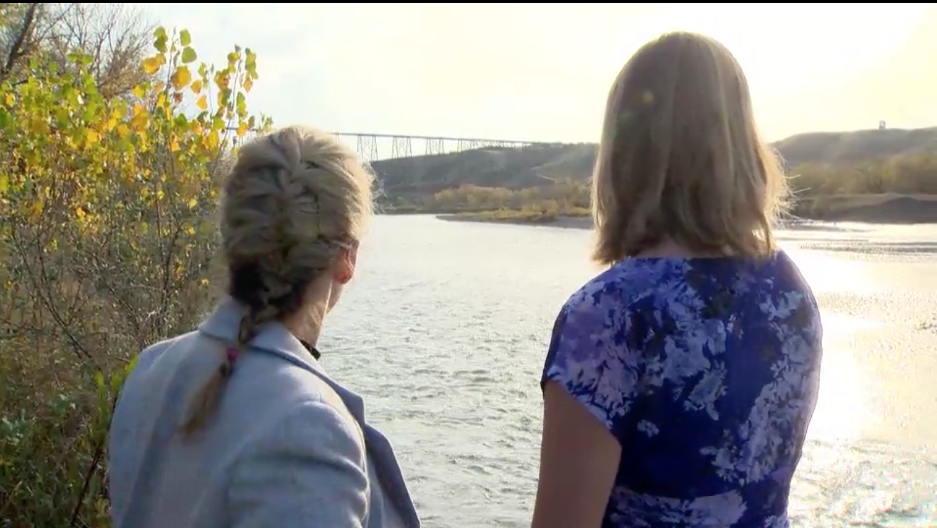 Global News Interview - Shannon Frank and Anna Garleff talk about the film.October 16, 2014.