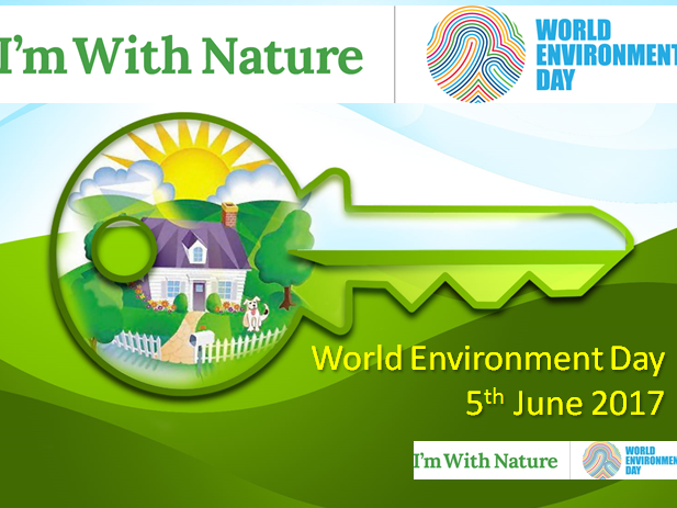 Show you are #WithNature by sharing your nature moment during World Environment Day!