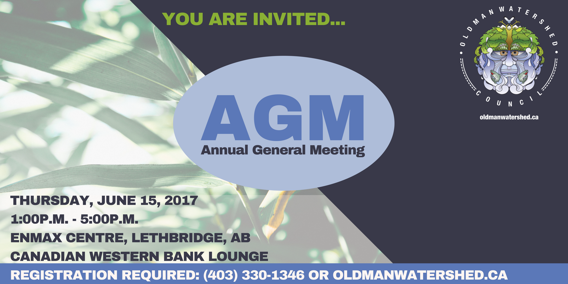 Please register here  http://owcagm2017.eventbrite.ca . Bring your kids, students and friends. It could change their life.