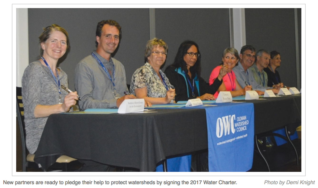 Prairie Post - More to sign on to Southern Alberta Water Charter