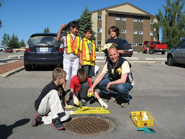 Yellow Fish Road™  is a  free storm drain painting program  that runs June 19, July 17, and August 21.